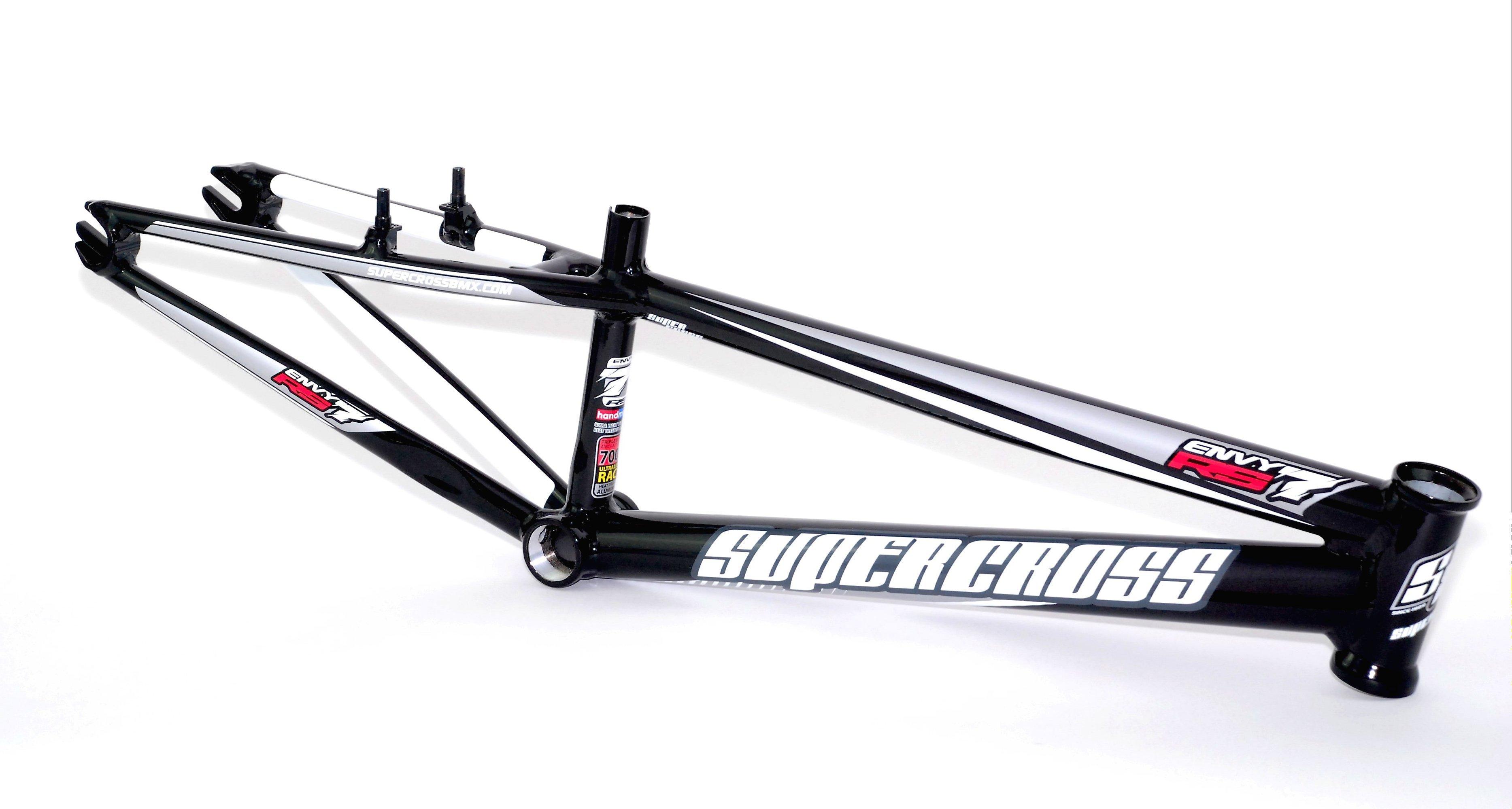 Supercross RS7 BMX Race Frame Gloss Black £649.95