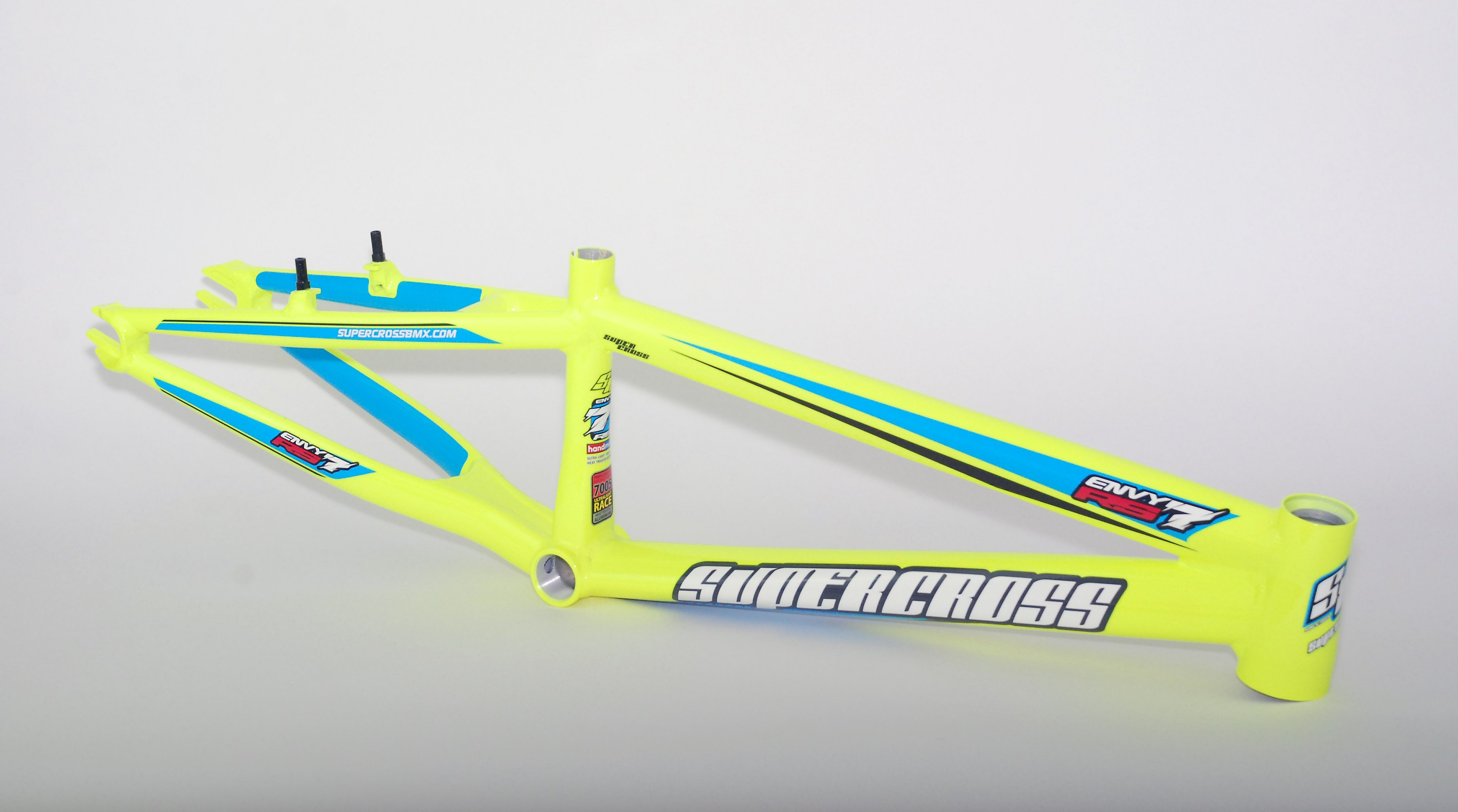 Supercross RS7 BMX Race Frame Hi Vis Yellow £649.95