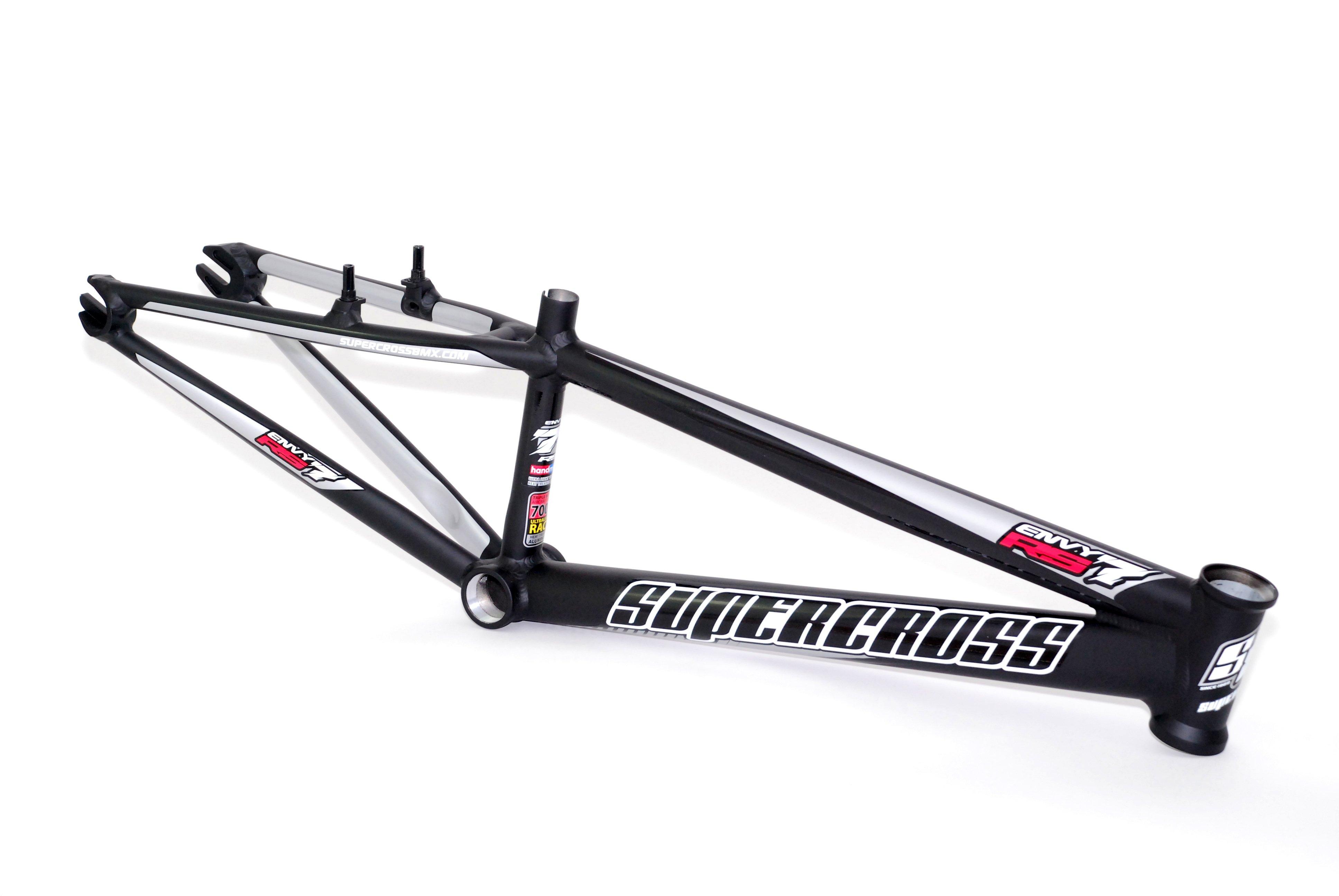 Supercross RS7 BMX Race Frame Matt Black £649.95