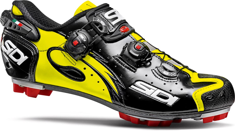 1ea8c88781f SIDI MTB Shoe Drako Carbon SRS Black/Fluro £325.00
