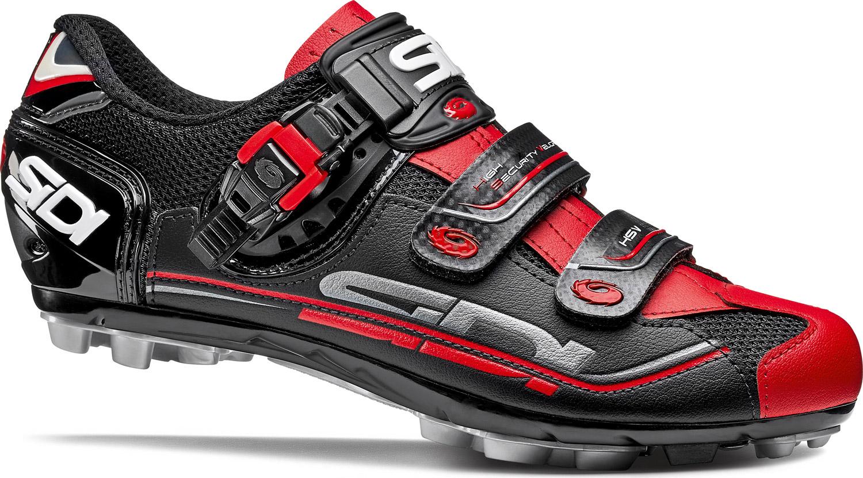 58f01def0eb SIDI Eagle 7 Fit MTB Shoe Black/Black/Red £170.00