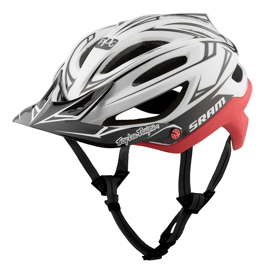 83d44df1a9efb Troy Lee Designs A2 Helmet MIPS SRAM Team White Red £111.99